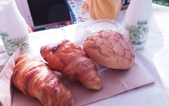 成田ゆめ牧場オートキャンプ場のパン
